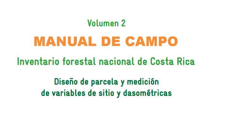 Manuales de Inventario Forestal