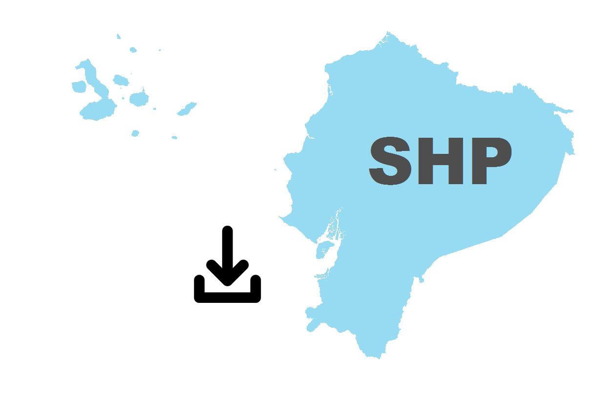 Descargar principales shapefiles del Ecuador