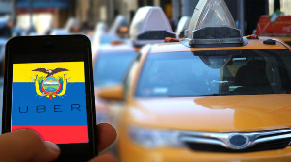 Uber ha llegado a Ecuador