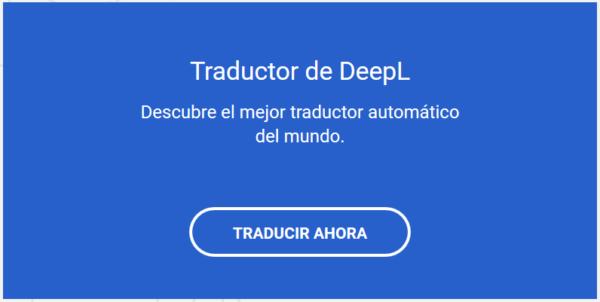 DeepL el mejor traductor probado